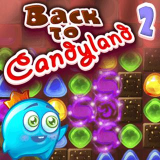Back to Candyland Match-3 Game