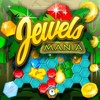 Jewels Mania Match-3 Game